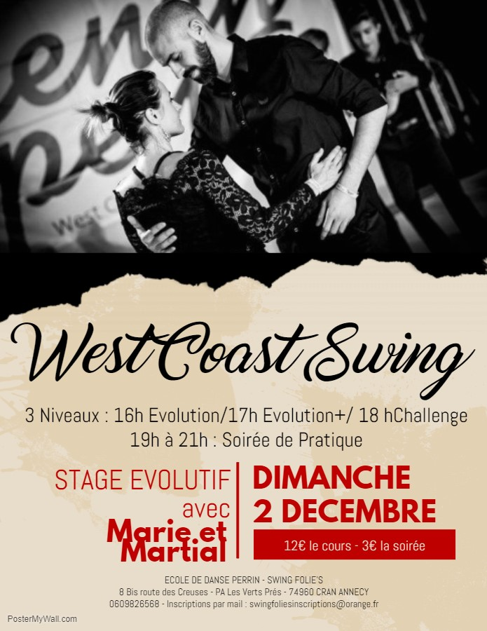 Stage WEST COAST SWING