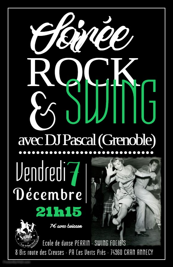 SOIREE 100% ROCK N SWING