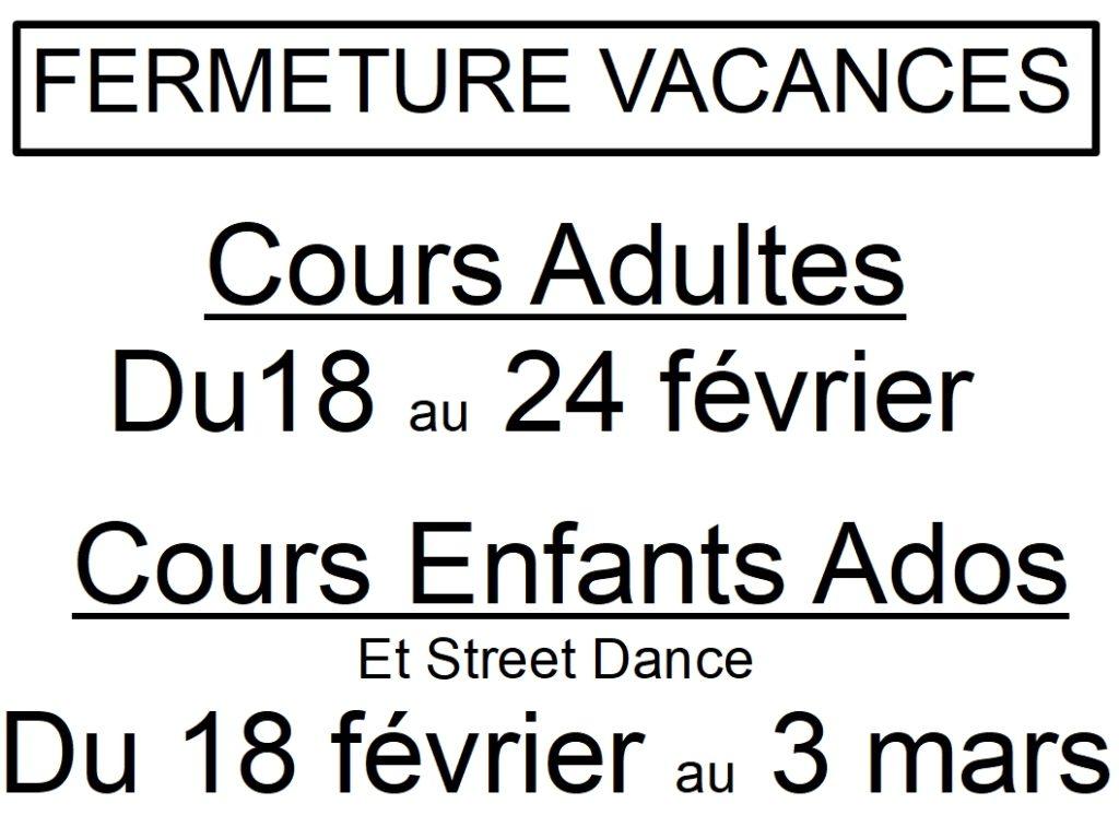 Reprise de tous les cours le 10 septembre sauf pour les cours inter et avancés en danses de couple dès le 3 sept