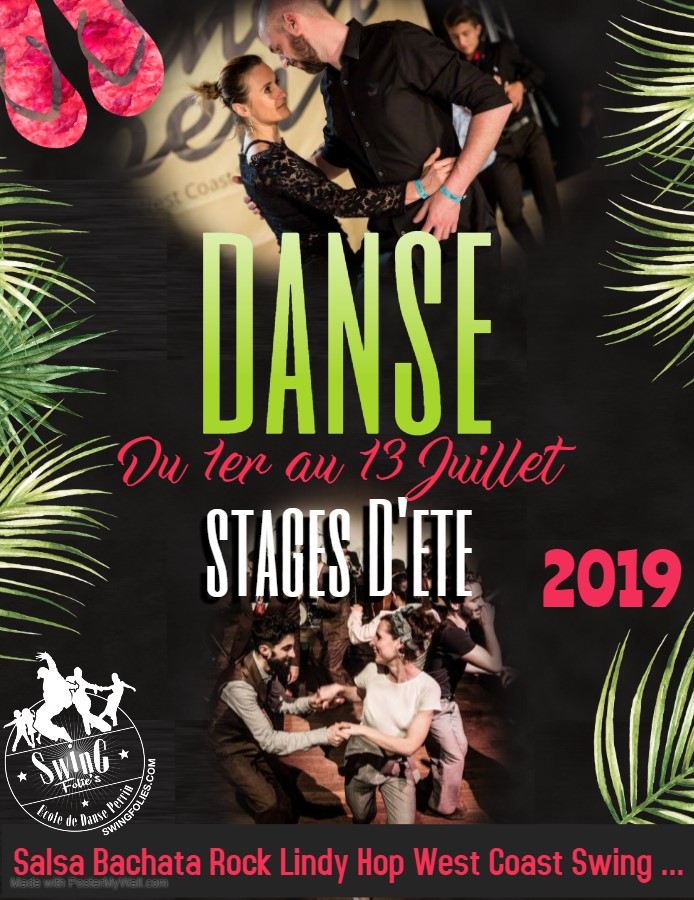 STAGES D'ETE 2019