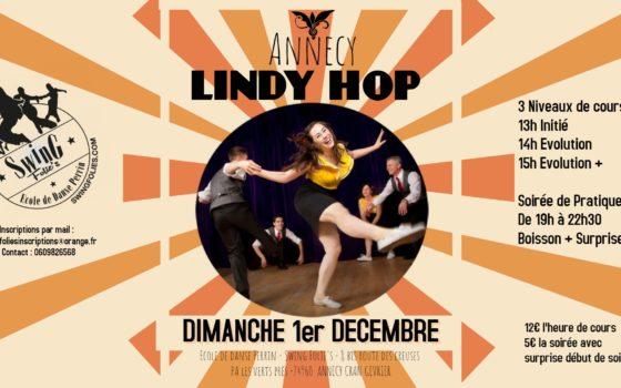Stage Lindy Hop Dimanche 1er Décembre