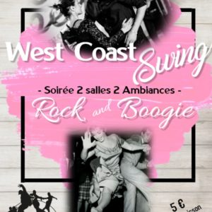Soirée Rock'n'Boogie ET West Coast Swing 28 Février 2020